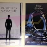 Αφίσες σε χαρτί παρουσίασης 100x70 cm - 50 shades of Grey