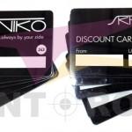 PVC εκπτωτικές κάρτες - Discount Cards