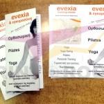 Διαφημιστικά φυλλάδια - Training Studio Evexia