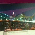 Ψηφιακή εκτύπωση σε kappa mount πάχους 5 mm διαστάσεων 1 x 0,25 m - Brooklyn