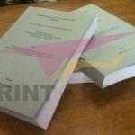 Εκτύπωση διδακτορικού - Περιμετρική βιβλιοδεσία