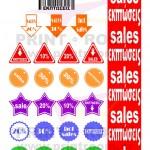 Αυτοκόλλητα εκπτώσεων - Αυτοκόλλητα Βινυλίου - Αυτοκόλλητα Βιτρίνας