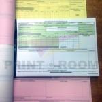 Εκτύπωση μπλοκ με αυτογραφικό χαρτί