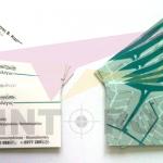 Επαγγελματικές κάρτες διπλής όψης με ματ πλαστικοποίηση