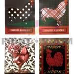 Έγχρωμες εκτυπώσεις διπλής όψης με ματ πλαστικοποίηση - Τιμοκατάλογος Famous Rooster