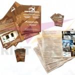 Διαφημιστικά φυλλάδια και εταιρικές κάρτες