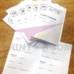 Ασπρόμαυρες φωτοτυπίες - Booklet με καρφίτσα