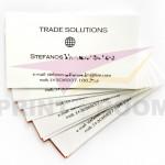 Ασπρόμαυρες επαγγελματικές κάρτες