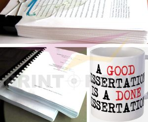 Οι φοιτητικές εργασίες και η εκτύπωσή τους - Εκτύπωση εργασίας