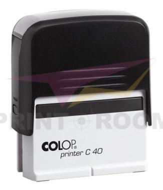 Αυτόματη Σφραγίδα έξι σειρών με Μηχανισμό Colop Printer C 40