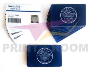 Πλαστικές PVC Κάρτες Μαθητών - Anatolia High School