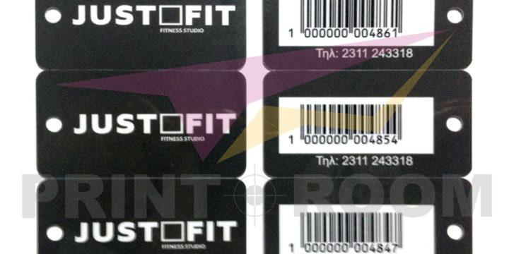 Πλαστικές PVC Κάρτες Mini – Keychain PVC Κάρτες