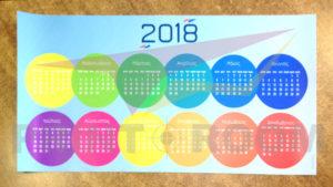 Ημερολόγιο Αφίσα σε χαρτί παρουσίασης (Πολυπροπυλένιο)