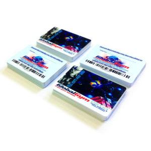 Πλαστικες καρτες μελους τυπου πιστωτικης με barcode - PVC membership cards with barcode - https://www.printroom.gr