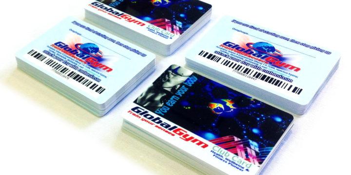 Πλαστικες καρτες τυπου πιστωτικης με barcode – Καρτες μελους