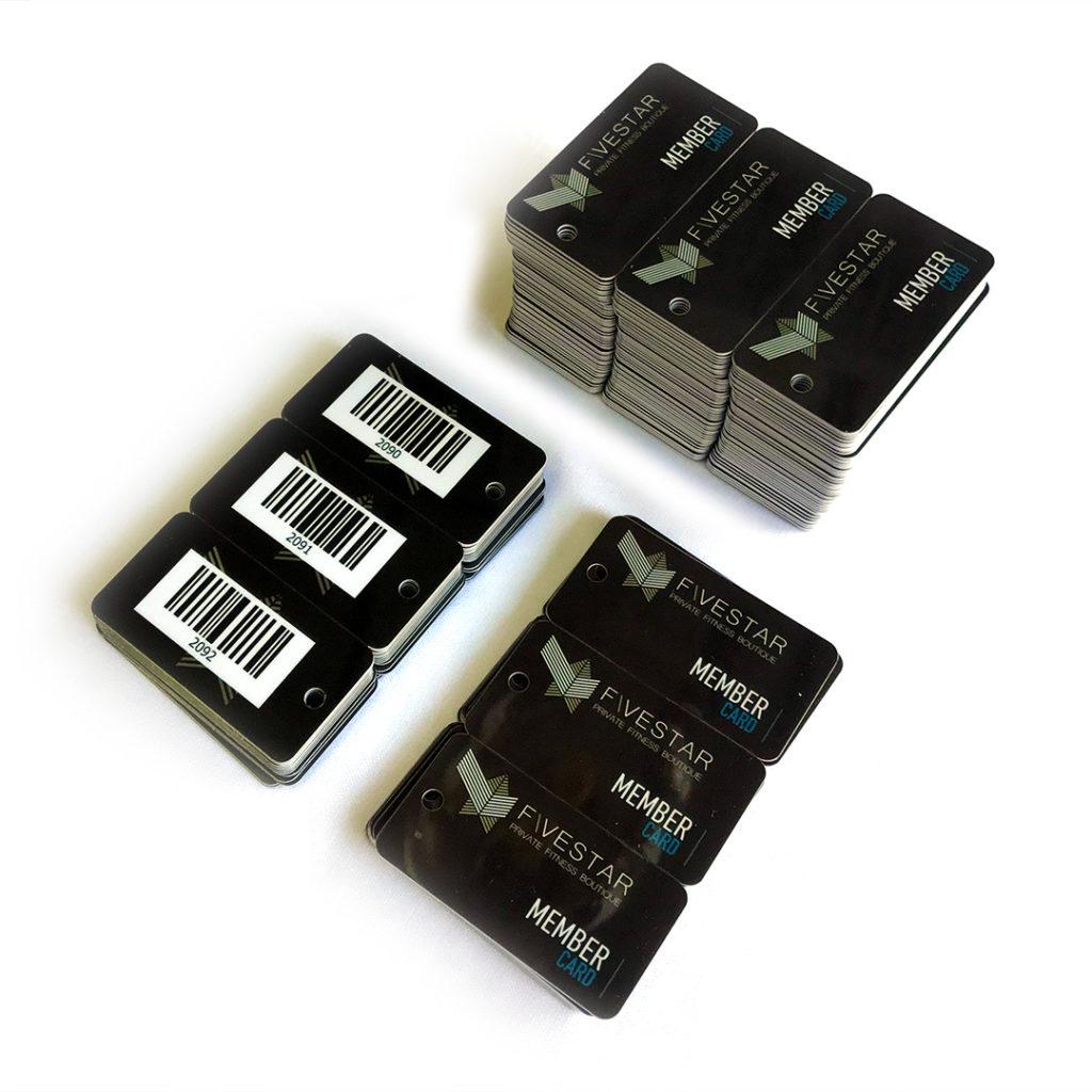 Μικρες Πλαστικες Καρτες τύπου supermarket (keytags)