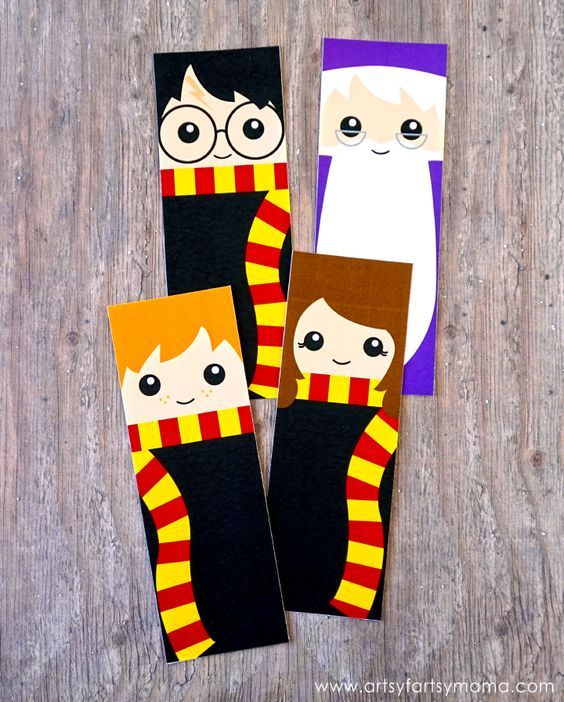 Εκτυπώσιμοι σελιδοδείκτες Harry Potter