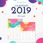 Ημερολόγια 2019 – Printables